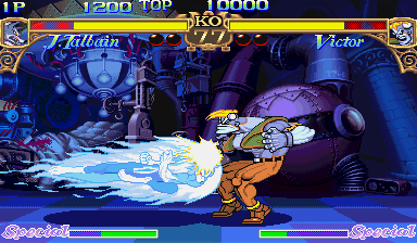 Darkstalkers: The Night Warriors (ARC)  © Capcom 1994   9/23