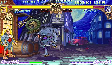 Darkstalkers: The Night Warriors (ARC)  © Capcom 1994   17/23