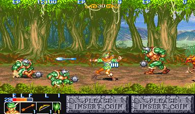 The King Of Dragons (ARC)  © Capcom 1991   5/6