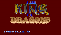 The King Of Dragons (ARC)  © Capcom 1991   1/6