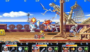 The King Of Dragons (ARC)  © Capcom 1991   6/6
