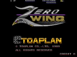 Zero Wing (ARC)  © Toaplan 1989   1/5