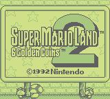 Super Mario Land 2: 6 Golden Coins (GB)  © Nintendo 1992   1/3