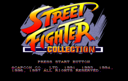 Street Fighter Collection (SS)   © Capcom 1997    1/18