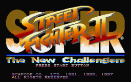 Street Fighter Collection (SS)   © Capcom 1997    2/18