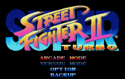 Street Fighter Collection (SS)   © Capcom 1997    3/18