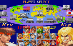 Street Fighter Collection (SS)   © Capcom 1997    4/18