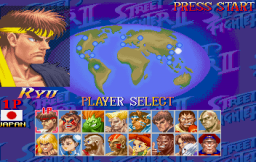 Street Fighter Collection (SS)   © Capcom 1997    5/18