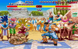 Street Fighter Collection (SS)   © Capcom 1997    11/18