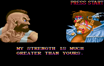 Street Fighter Collection (SS)   © Capcom 1997    13/18