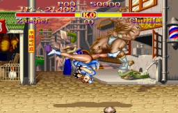 Street Fighter Collection (SS)   © Capcom 1997    17/18
