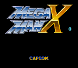 Mega Man X (SNES)   © Capcom 1993    1/8