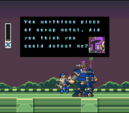 Mega Man X (SNES)   © Capcom 1993    2/8