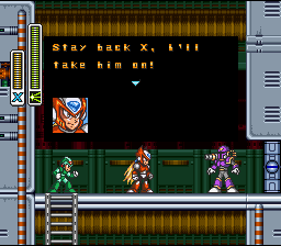 Mega Man X (SNES)   © Capcom 1993    8/8