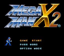 Mega Man X2 (SNES)   © Capcom 1994    1/3