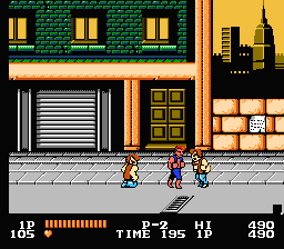 Double Dragon (NES)   © Tradewest 1988    3/3