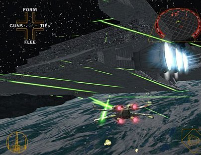 Star Wars: Rogue Leader: Rogue Squadron II (GCN)   © LucasArts 2001    4/6