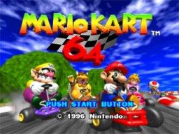 Mario Kart 64  © Nintendo 1996  (N64)   1/3