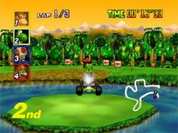 Mario Kart 64  © Nintendo 1996  (N64)   3/3