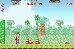 Super Mario Advance (GBA)  © Nintendo 2001   2/4