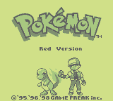 Pokémon Red (GB)   © Nintendo 1996    1/3