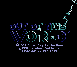 Another World (SNES)   © Interplay 1992    1/4
