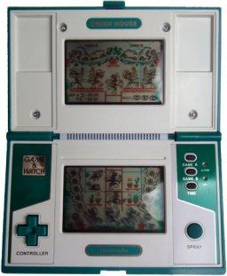 Green House (G&W)  © Nintendo 1982   1/1