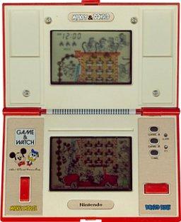 Mickey & Donald (G&W)  © Nintendo 1982   1/1