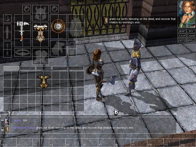 Neverwinter Nights (PC)   © Infogrames 2002    4/9