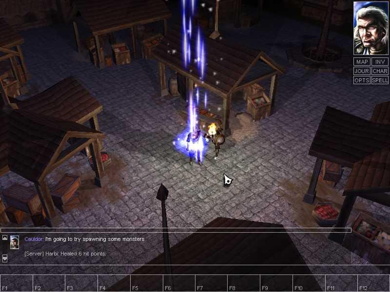 Neverwinter Nights (PC)   © Infogrames 2002    8/9