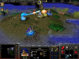 Warcraft III: Reign Of Chaos (PC)   © VU Games 2002    1/5
