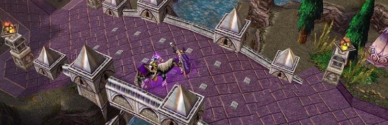 """<h2 class='titel'>Warcraft III: Reign Of Chaos</h2><h2 class='score'>7/10</h2><div><span class='citat'>""""Vigtig lore udspilles i en balanceret campaign med kun få svagheder. Det snævre overblik og spillets samtidige ekstreme fokus på macro-management gør selv SP til en (for?) hektisk oplevelse.""""</span><span class='forfatter'>- quad</span></div>"""