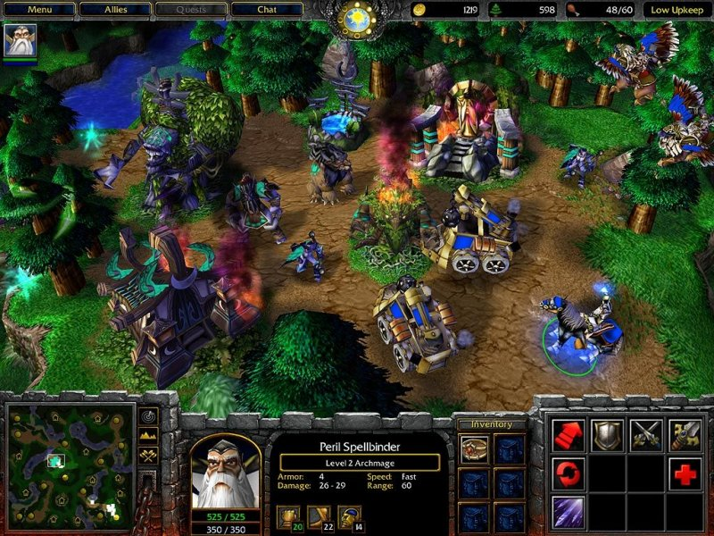 Warcraft III: Reign Of Chaos (PC)   © VU Games 2002    5/5