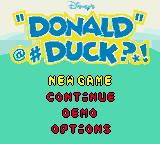 Donald Duck: Quack Attack (GBC)  © Ubisoft 2000   1/3