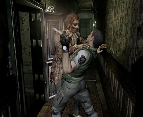 Resident Evil (2002) (GCN)  © Capcom 2002   5/8