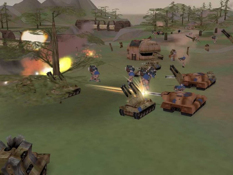 Z: Steel Soldiers (PC)  © EON Digital Entertainment 2001   6/9