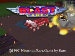 Blast Corps (N64)  © Nintendo 1997   1/3