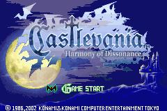 Castlevania: Harmony Of Dissonance (GBA)  © Konami 2002   1/3