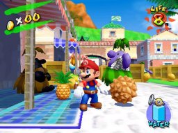 Super Mario Sunshine (GCN)  © Nintendo 2002   1/5