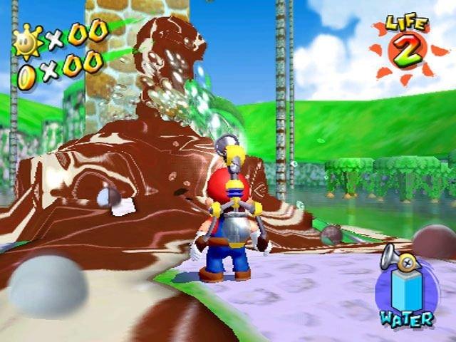 Super Mario Sunshine (GCN)  © Nintendo 2002   4/5