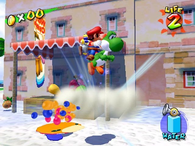 Super Mario Sunshine (GCN)  © Nintendo 2002   5/5