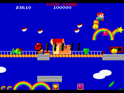 Rainbow Islands   © Taito 1987   (ARC)    2/4