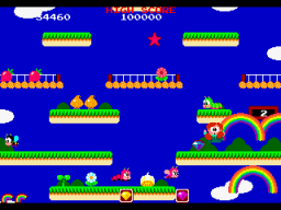 Rainbow Islands   © Taito 1987   (ARC)    3/4