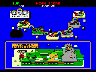Rainbow Islands   © Taito 1987   (ARC)    4/4