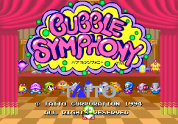 Bubble Symphony   © Taito 1994   (ARC)    1/8