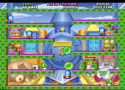 Bubble Symphony   © Taito 1994   (ARC)    2/8