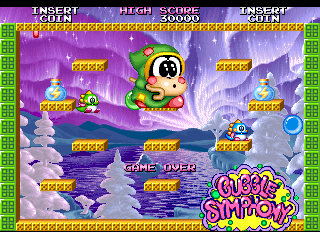 Bubble Symphony   © Taito 1994   (ARC)    8/8