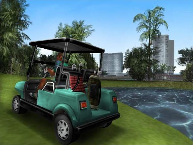 Grand Theft Auto: Vice City (PS2)  © Rockstar Games 2002   4/4