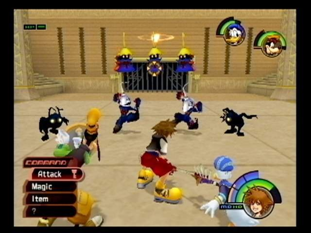 Kingdom Hearts (PS2)   © Square 2002    4/9