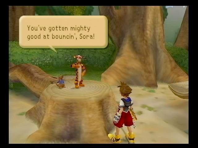 Kingdom Hearts (PS2)  © Square 2002   5/9